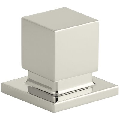 Loure Deck-Mount 2-Way Diverter Valve Finish: Vibrant Polished Nickel