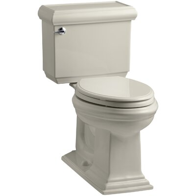 Memoirs Classic Comfort Height Two-Piece Elongated 1.28 GPF Toilet with Aquapiston Flush Technology and Left-Hand Trip Lever Finish: Sandbar