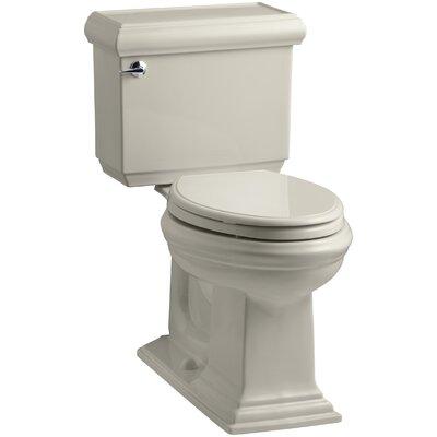 Memoirs Classic Comfort Height Two-Piece Elongated 1.28 GPF Toilet with Aquapiston Flush Technology and Left-Hand Trip Lever Finish: Sandbar