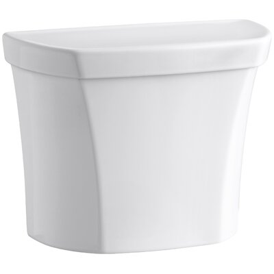 Wellworth Dual-Flush Tank with Right-Hand Trip Lever Finish: White