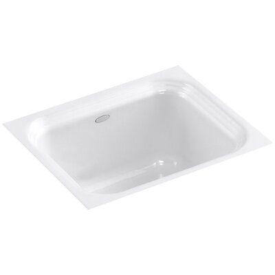 Northland Under-Mount Bar Sink Finish: White