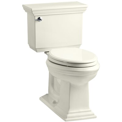 Memoirs Stately 1.28 GPF Elongated Two-Piece Toilet Finish: Biscuit