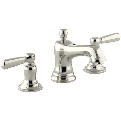 Bancroft Widespread Double Handle Bathroom Faucet with Drain Assembly Finish: Vibrant Polished Nickel