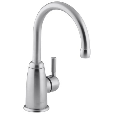 Wellspring Beverage Faucet with Contemporary Design Complete with Aquifer Water Filtration System Finish: Brushed Chrome
