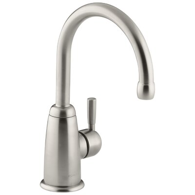 Wellspring Beverage Faucet with Contemporary Design Complete with Aquifer Water Filtration System Finish: Vibrant Stainless