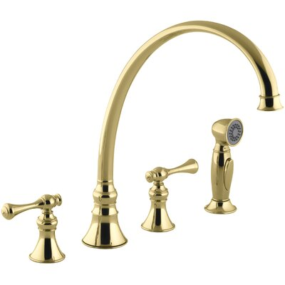 Revival 4-Hole Kitchen Sink Faucet with 11-13/16