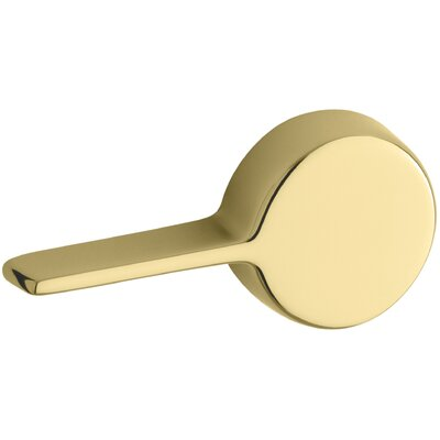 Kelston Left-Hand Trip Lever Finish: Vibrant Polished Brass