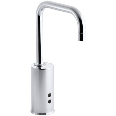 Gooseneck Single-Hole Touchless Hybrid Energy Cell-Powered Commercial Faucet with Insight Technology Finish: Polished Chrome