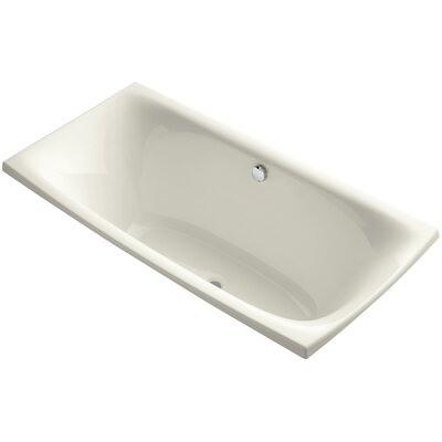 Escale 72 x 36 Soaking Bathtub Finish: White
