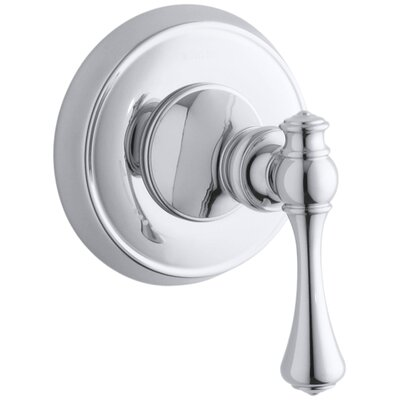 Revival Valve Trim with Traditional Lever Handle for Volume Control Valve, Requires Valve Finish: Polished Chrome