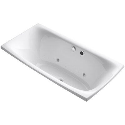 Escale 72 x 36 Air Bathtub Finish: White