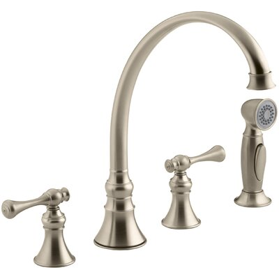 Revival 4-Hole Kitchen Sink Faucet with 9-3/16