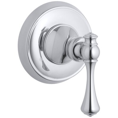 Revival Valve Trim with Traditional Lever Handle for Transfer Valve, Requires Valve Finish: Polished Chrome