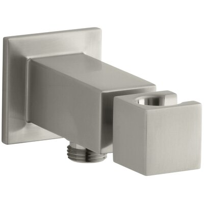 Loure Wall-Mount Handshower Holder Finish: Vibrant Brushed Nickel