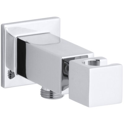 Loure Wall-Mount Handshower Holder Finish: Polished Chrome