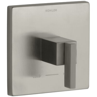 Loure Thermostatic Valve Trim Finish: Vibrant Brushed Nickel