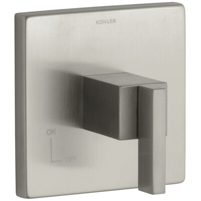 Loure Volume Control Trim Finish: Vibrant Brushed Nickel