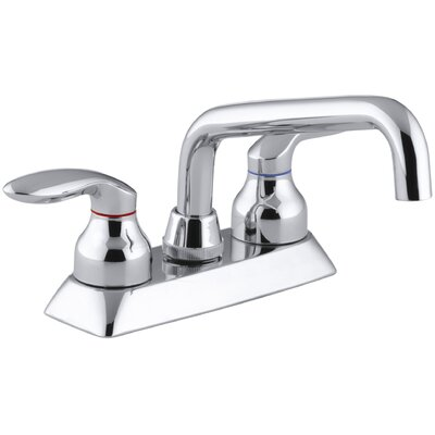 Coralais Utility Sink Faucet with Lever Handles