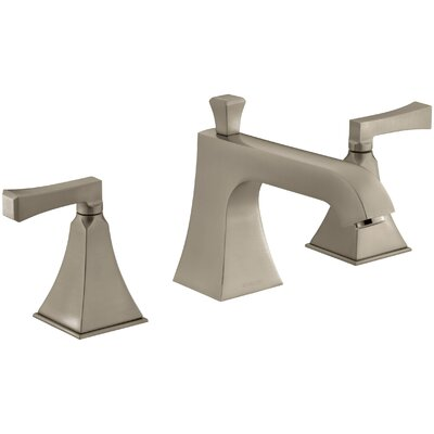 Memoirs Stately Deck-Mount Bath Faucet Trim for High-Flow Valve with Diverter Spout and Deco Lever Handles, Valve Not Included Finish: Vibrant Brushed Bronze