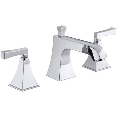Memoirs Stately Deck-Mount Bath Faucet Trim for High-Flow Valve with Diverter Spout and Deco Lever Handles, Valve Not Included Finish: Polished Chrome