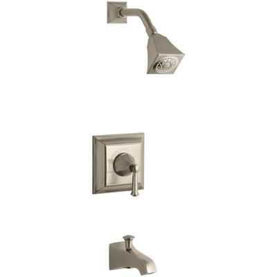 Memoirs Stately Rite-Temp Pressure-Balancing Bath and Shower Faucet Trim with Lever Handle, Valve Not Included Finish: Vibrant Brushed Bronze