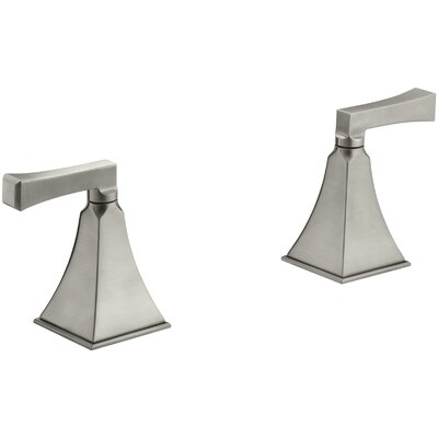 Memoirs� Widespread Double Handle Bathroom Faucet Finish: Vibrant Brushed Nickel