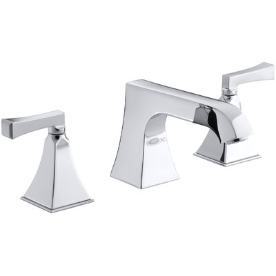 Memoirs Stately Deck-Mount High-Flow Bath Faucet Trim with Non-Diverter Spout and Deco Lever Handles, Valve Not Included Finish: Polished Chrome