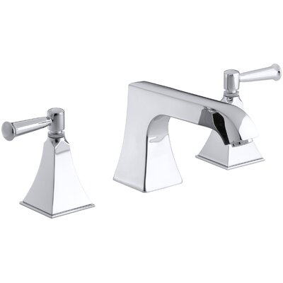 Memoirs Stately Deck-Mount Bath Faucet Trim with Non-Diverter Spout and Lever Handles, Valve Not Included Finish: Polished Chrome