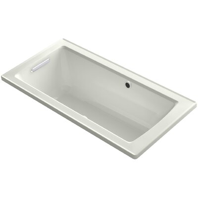Archer Drop-in BubbleMassage� Air Bath with Bask� Heated Surface and Reversible Drain Finish: Dune