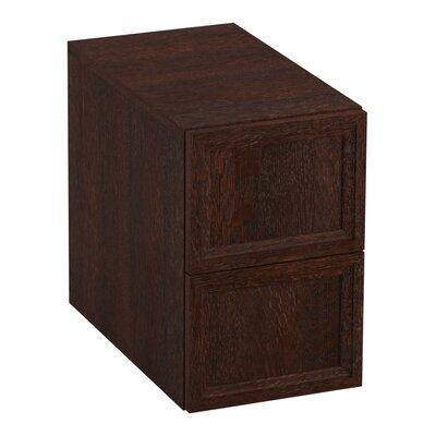 Damask 12.38 W x 19.06 H Cabinet Finish: Woolen Oak
