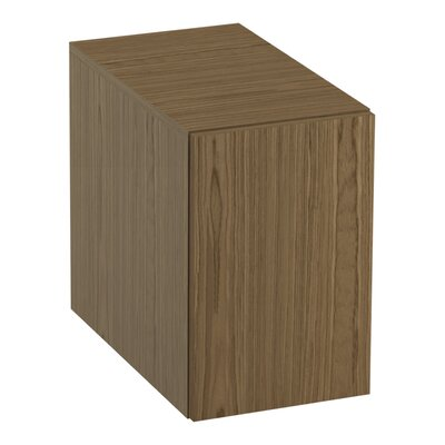 Jute� 2-Drawer Bridge Finish: Walnut Flax