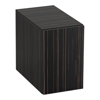 Jute� 2-Drawer Bridge Finish: Ebony Velour