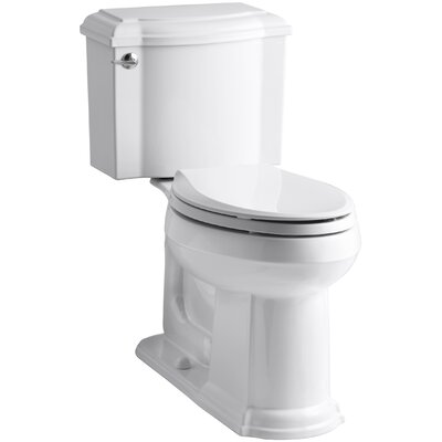 Devonshire Comfort Height Two Piece Elongated Toilet Finish: White
