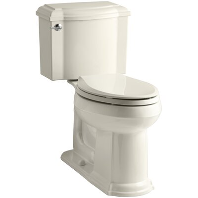 Devonshire Comfort Height Two Piece Elongated Toilet Finish: Thunder Grey