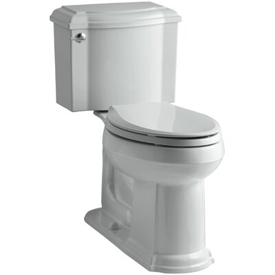Devonshire Comfort Height Two Piece Elongated Toilet Finish: Ice Grey