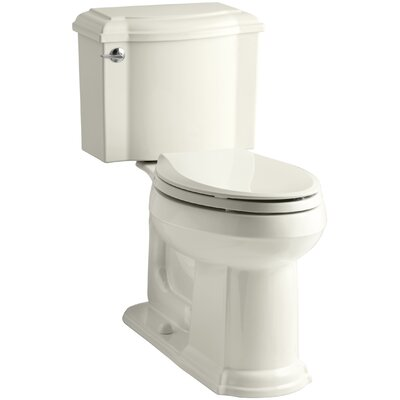Devonshire Comfort Height Two Piece Elongated Toilet Finish: Biscuit
