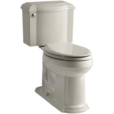 Devonshire Comfort Height Two Piece Elongated Toilet Finish: Sandbar