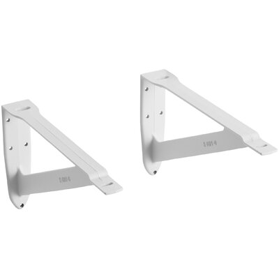Pair Of Wall Brackets Size: 20
