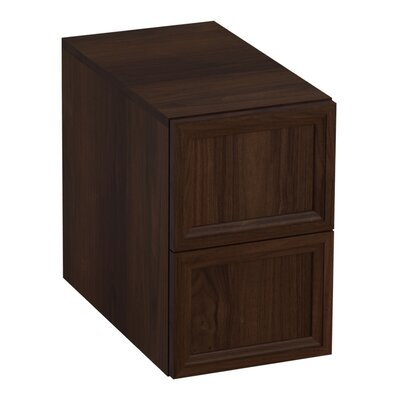 Damask 12.38 W x 19.06 H Cabinet Finish: Ramie Walnut
