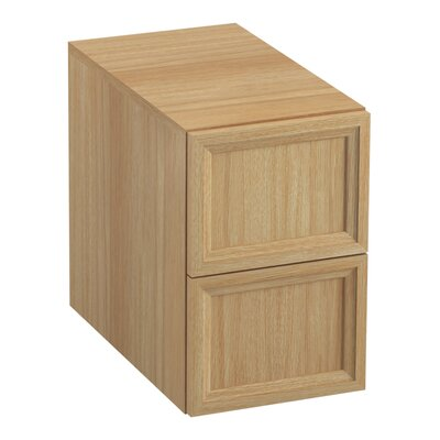 Damask 12.38 W x 19.06 H Cabinet Finish: Khaki White Oak