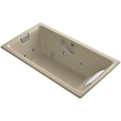 Tea for Two Massage Whirlpool Bath Finish: Mexican Sand