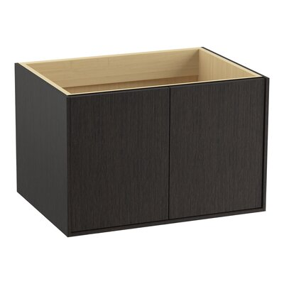 Jute 30 Vanity with 2 Doors Finish: Satin Oak