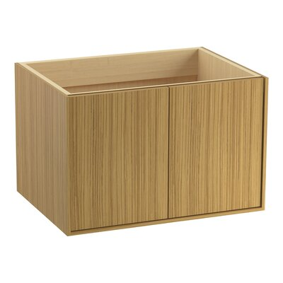 Jute 30 Vanity with 2 Doors Finish: Corduroy Teak