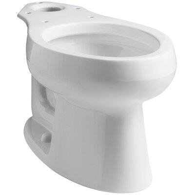Wellworth Elongated Bowl Finish: White