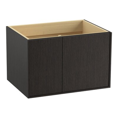 Jute� 30 Vanity with 1 Door and 1 Drawer on Left Finish: Satin Oak