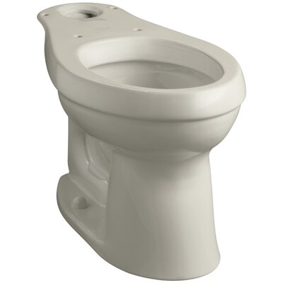 Cimarron Comfort Height Elongated Toilet Bowl with Class Five Flushing Technology Finish: Sandbar