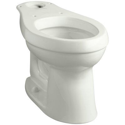 Cimarron Comfort Height Elongated Toilet Bowl with Class Five Flushing Technology Finish: Dune