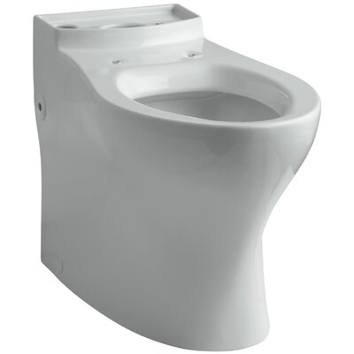 Persuade Curve Comfort Height Elongated Toilet Bowl Finish: Ice Grey