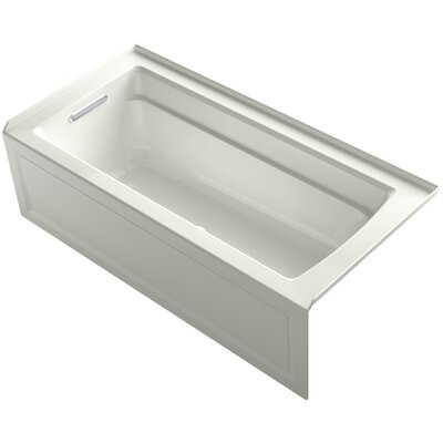 Archer BubbleMassage� Whirlpool Bath with Integral Apron and Left-Hand Drain Finish: Dune