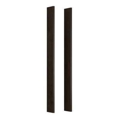 Verdera Medicine Cabinet Wood Side Kit for Tailored Vanities Organizers Finish: Claret Suede